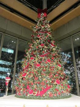 クリスマスツリー@丸ビル.JPG
