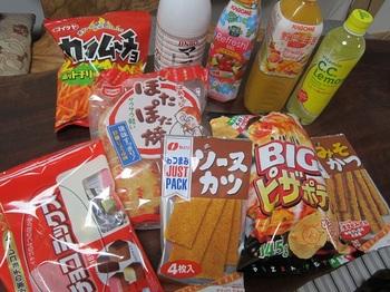 ジュースとお菓子.JPG