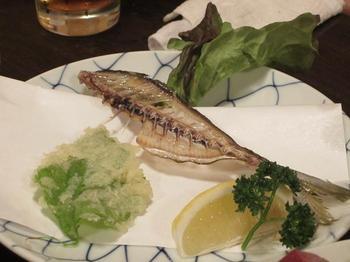 明日葉の天ぷらと骨せんべい.JPG