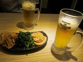 ビールとおつまみセット.JPG